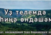 Проект «Уҙ телемдә һиңә өндәшәм» 14/12/2020
