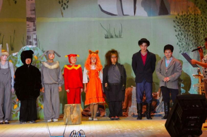 Образцовый башкирский детский театр «Тамыр»