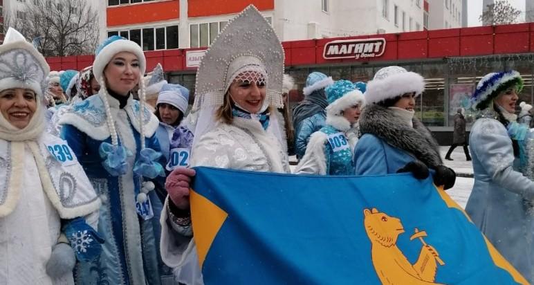 Республиканский парад Снегурочек 03/01/2021