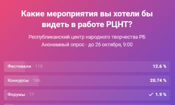 ГОЛОСУЕМ! Анонимный опрос.  21/10/2021