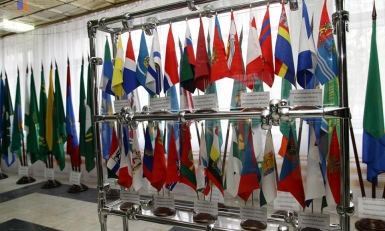 Выставка государственных символов