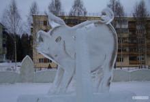 Открытие ледовых городков