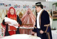 """Ансамбль """"Алтынай"""" показал обряд имянаречения"""