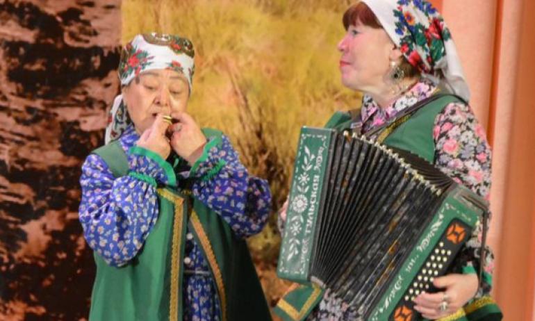Отчетный концерт народного фольклорного ансамбля «Ильмяш» 18/03/2021