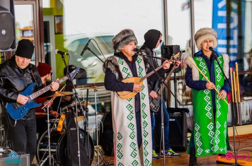 Народная этно-рок группа «Дэрт»