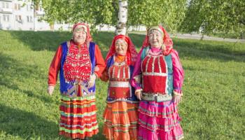 Праздник башкирского национального костюма
